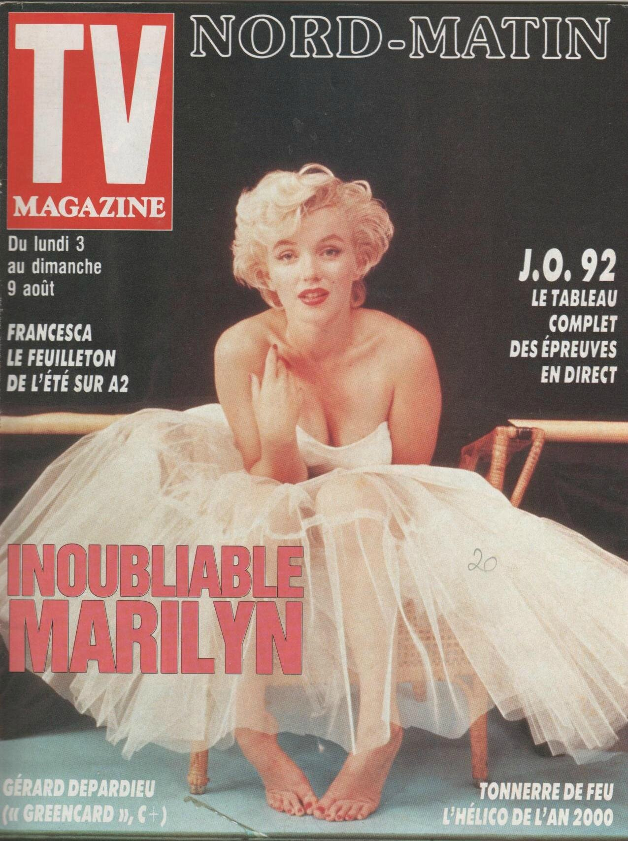 TV Magazine (NM) (Fr) 1992