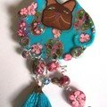 broche chat pop