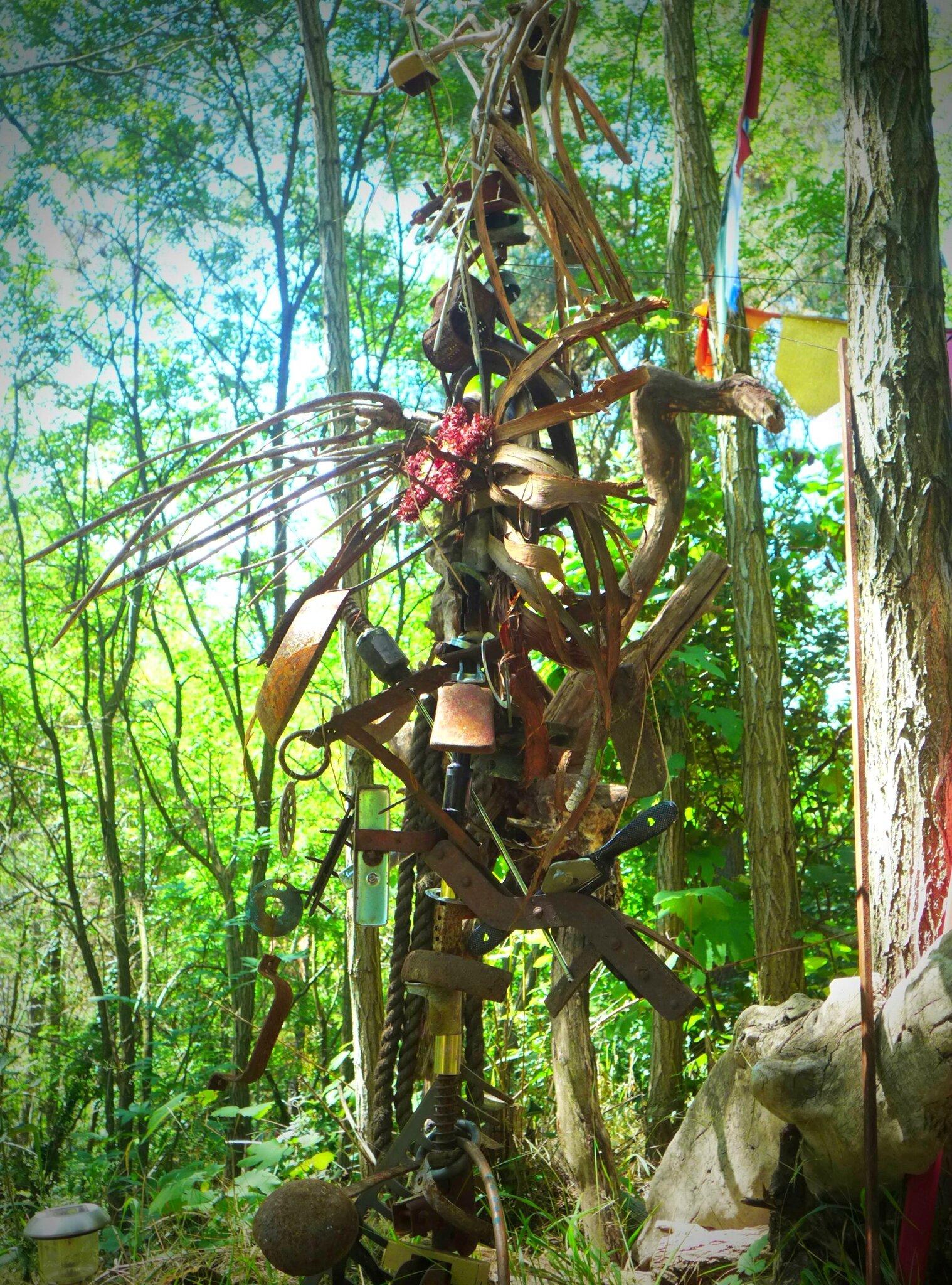 ferrailles montées sur tige yurtao