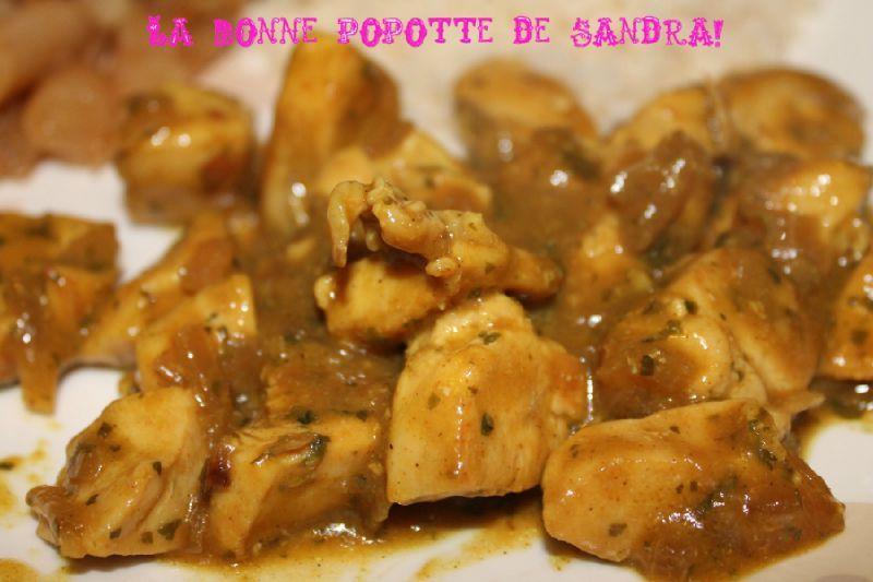 Poulet Curry Yaourt 0 La Bonne Popotte De Sandra