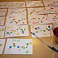 60 cartes à écrire, au boulot !