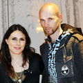 Session Photo WITHIN TEMPTATION - Sharon - Robert (Paris 2011)