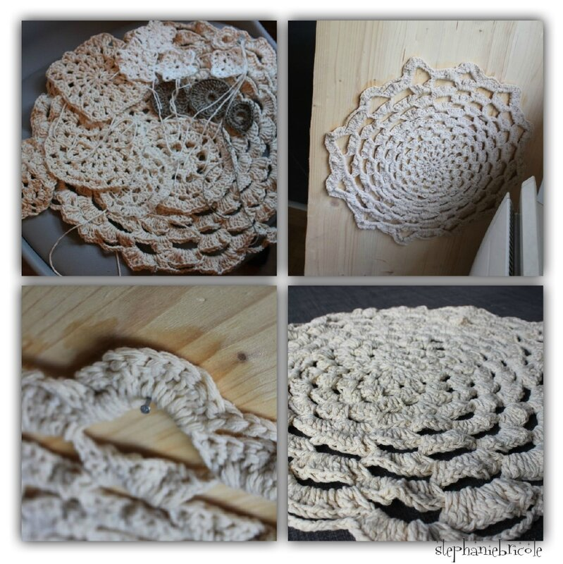 napperon crochet diy