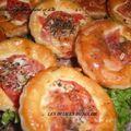 Tartelettes au saumon fumé et à la tomate