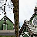 La maison vintage dans la chapelle