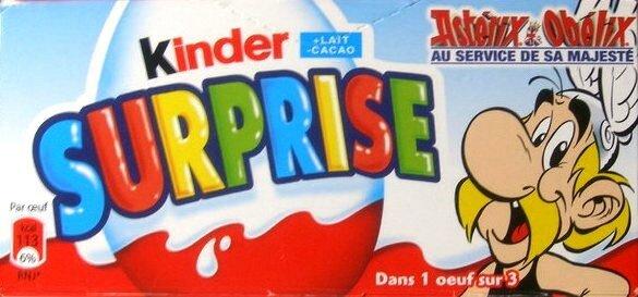 Boîte Kinder Astérix 1
