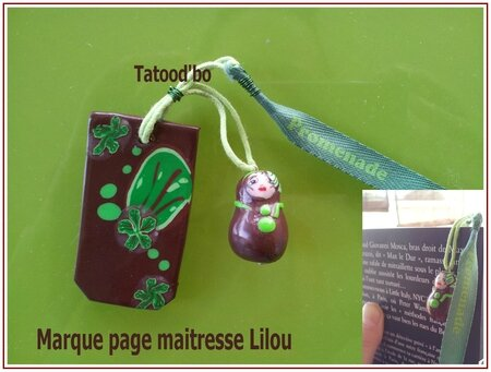 marque page lilou