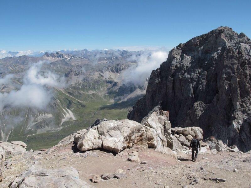 Le Mont Thabor , et sommet Est ......