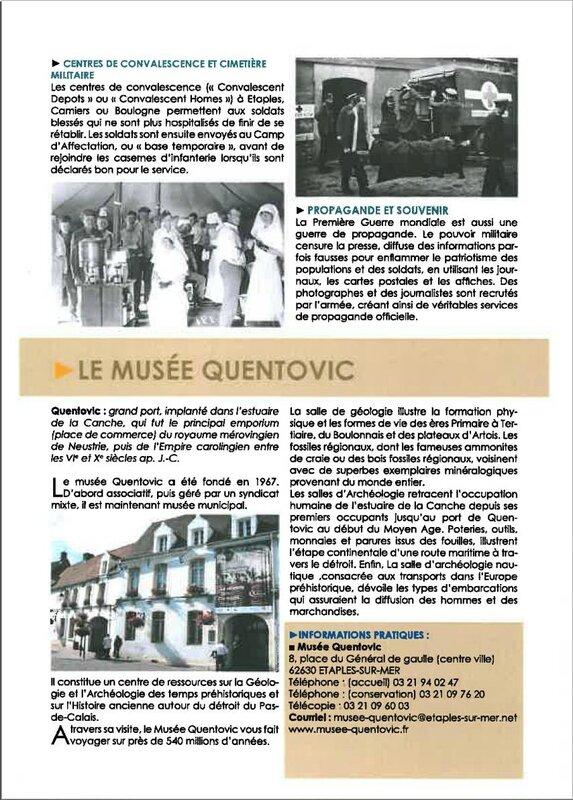 Musée Quentovic 4 - Etaples - in ong rubio philanthropie 14-18
