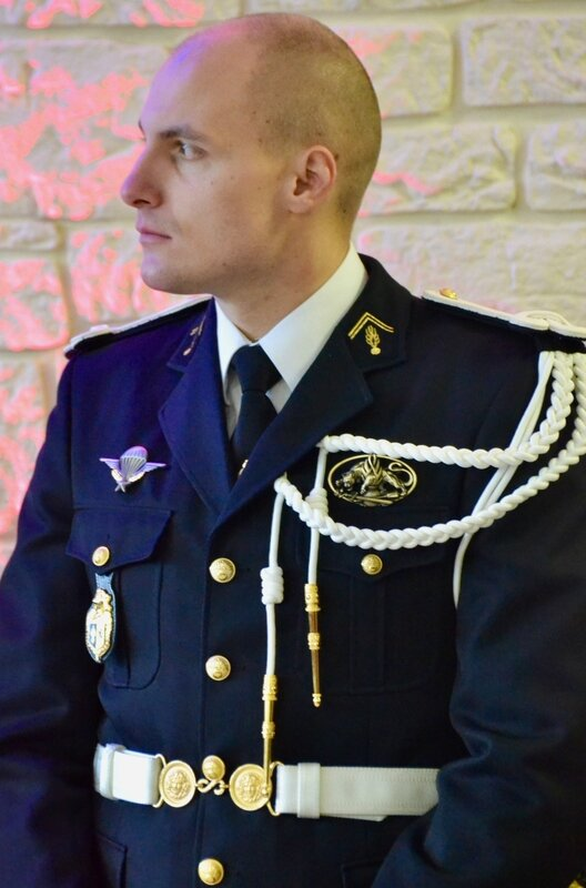 ESCADRON GENDARMERIE MOBILE 2017 PRISE COMMANDEMENT CAPITAINE KIPPEURT capitaine