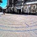 L'église notre-dame de talant, le labyrinthe