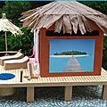 Urne bungalow pilotis maldives