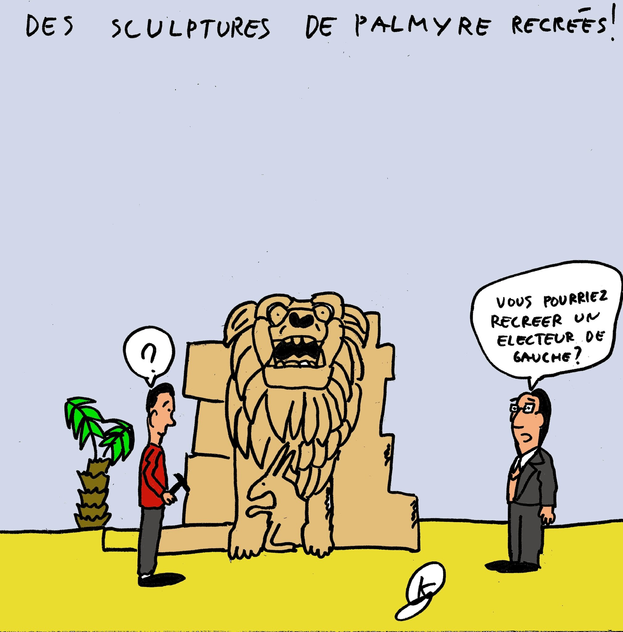 palmyre-statues