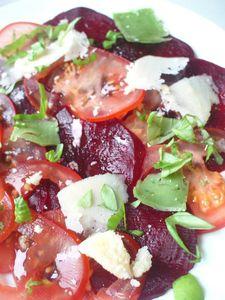 Carpaccio tomate-betterave