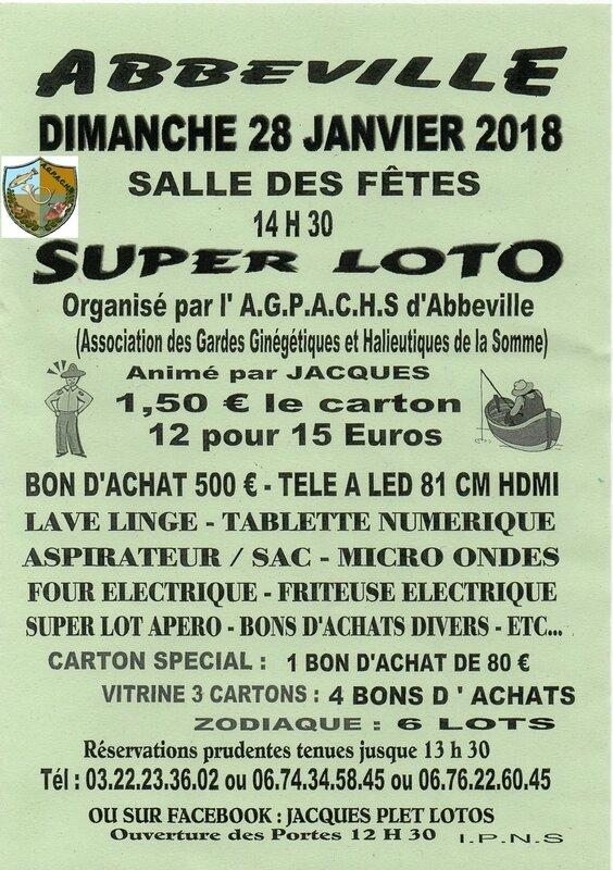 Super Loto 28 Janvier 2018 logo