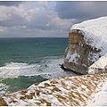 Valleuse du Fourquet sous la neige