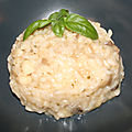 Risotto à la garniture de coquille saint jacques