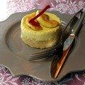 Cheesecake au foie gras et aux pommes