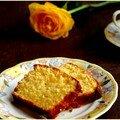 Cake au citron et aux amandes à la farine de maïs