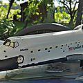 Shuttle atlantis de chez revell au 1/144