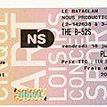 The b-52's - vendredi 18 juillet 2008 - bataclan (paris)