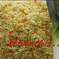 Prassorizo - greek leek rice