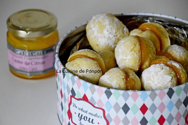 biscuits au beurre et lemon curd (5)