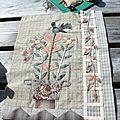 Bouquet floral de yoko saïto ,étape 9
