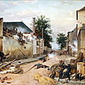 Philippoteaux, barricade tournée (1883)