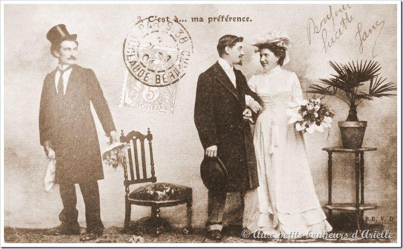 Le mariage au début du siècle (1)
