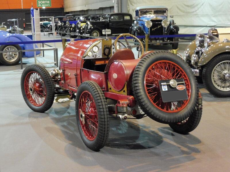 BUGATTI type 13 carrosserie course 2 places usine 1922 Strasbourg (2)