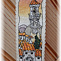 Bookmark spanish hill town