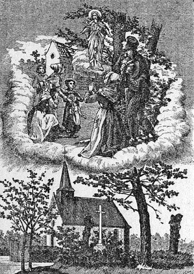 st laurent de la plaine chapelle miracles