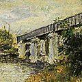 Monet, pont de chemin de fer d'Argenteuil