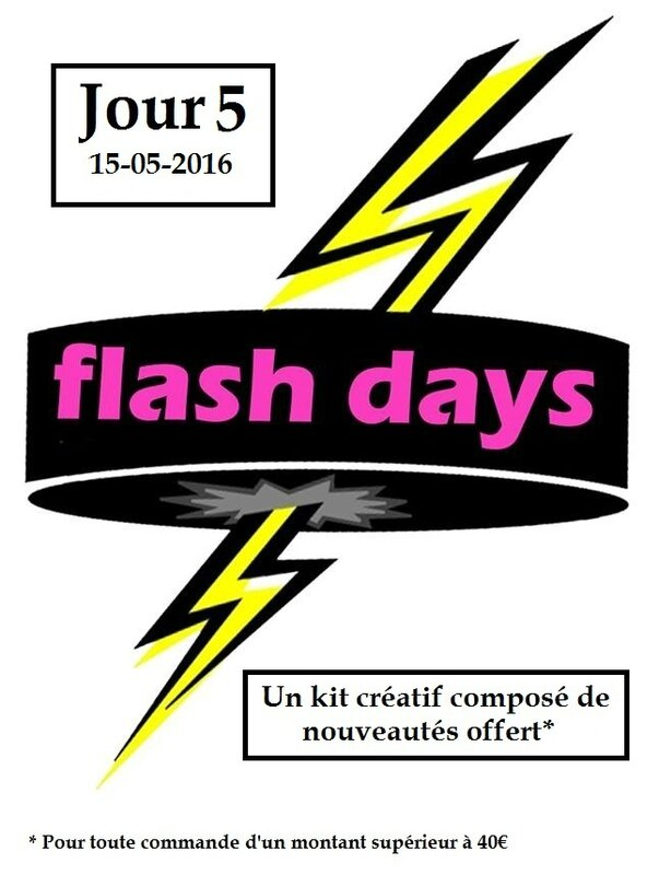 Flash Days Jour 5 15-05