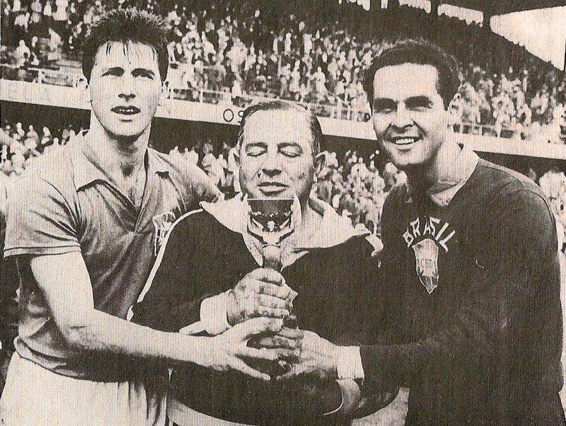 1958 Livre Brésil Trophée