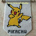 Tapisserie Pikachu : créa perso