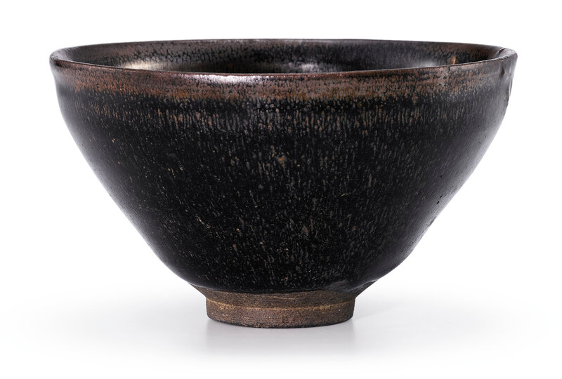 A Jian 'Hare's fur' temmoku bowl, Song dynasty (960-1279)