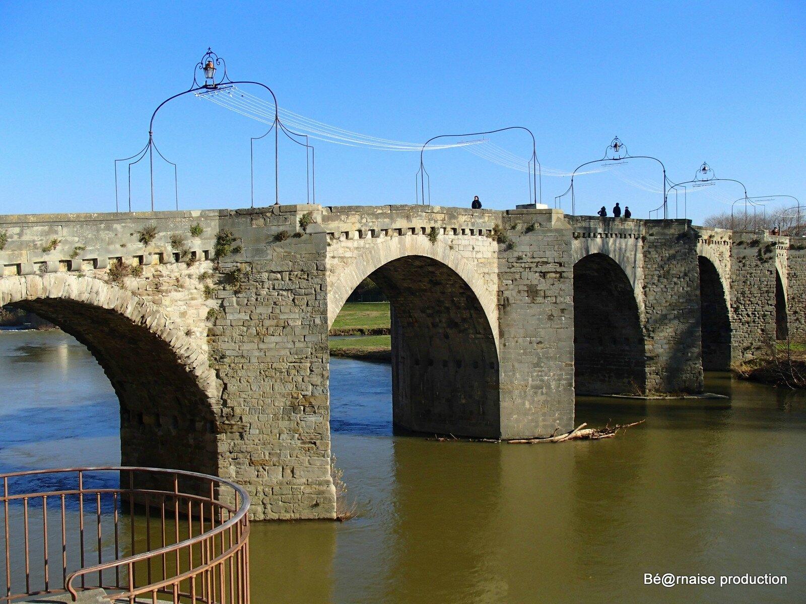 Pont Vieux (Carcassonne-Aude, décembre 2014)