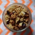 Granola Pomme-Cranberries [vegan]