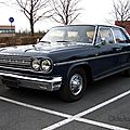Rambler renault classic 4door sedan-1966