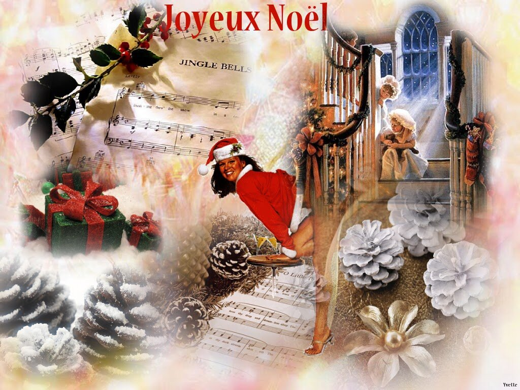 Joyeux Noel Mere Noel.Fond D Ecran Mere Noel Sexy 1024 768 Creationsy