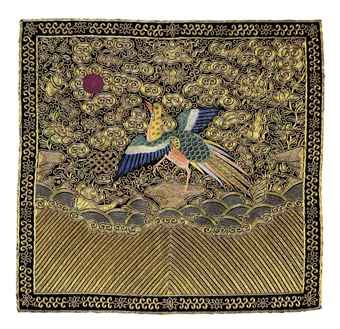 an_embroidered_civil_officials_rank_badge_of_a_golden_pheasant_buzi_19_d5477062h