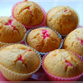 Strawberry cheesecake muffins !!!!!!!!!!!!