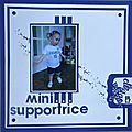 mini supportrice